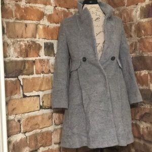 ROEM grey wool Coat